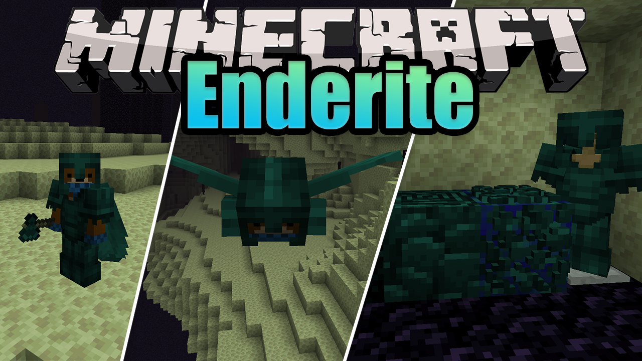 Enderite Mod 9.96.9/9.96.9 (Empowered Equipments, Tools