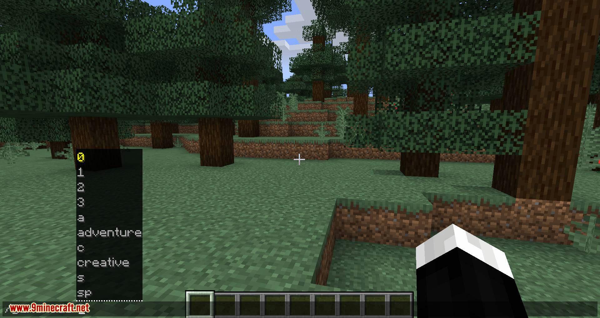 GamemodeOverhaul mod for minecraft 01
