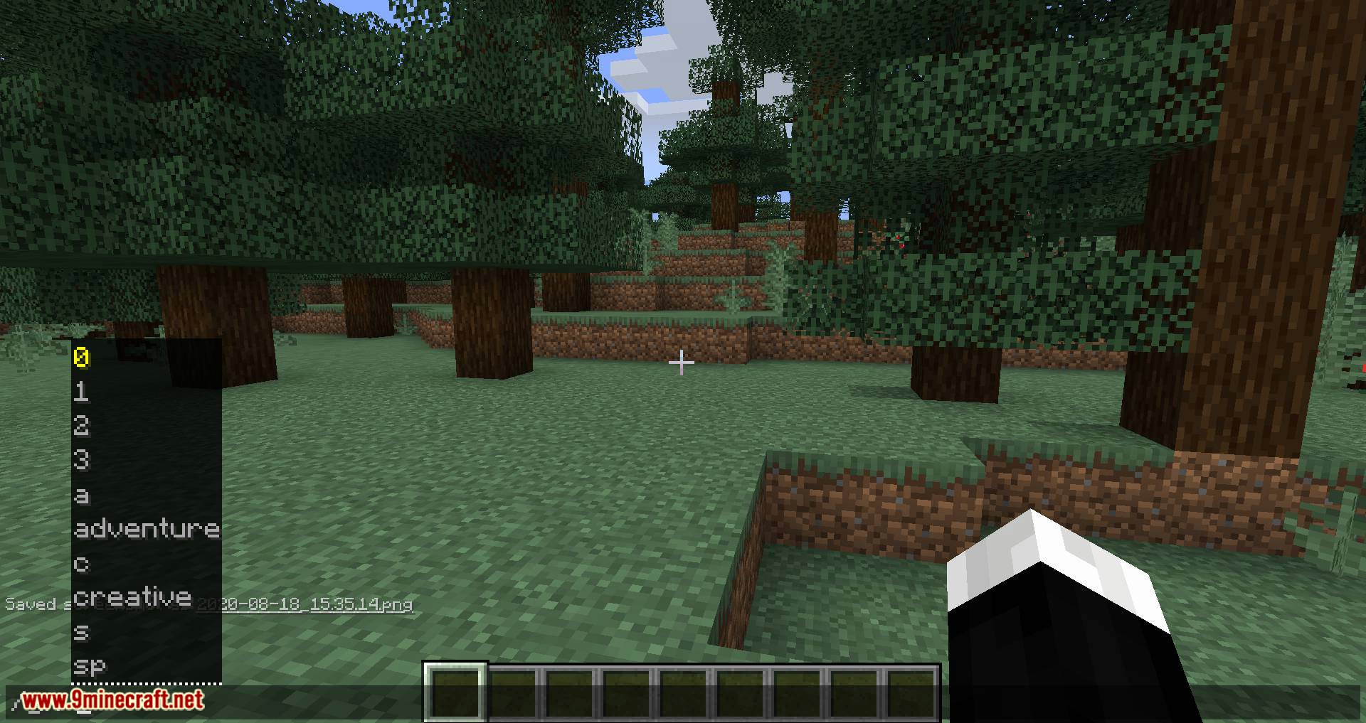 GamemodeOverhaul mod for minecraft 02