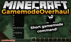 GamemodeOverhaul mod for minecraft logo