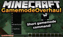 GamemodeOverhaul mod for minecraft logo