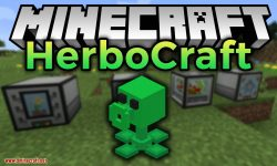 HerboCraft mod for minecraft logo