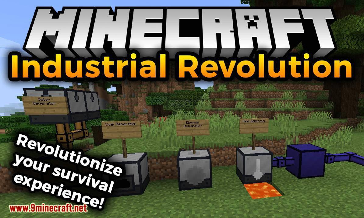 Industrial Revolution Mod 1.17/1.16.5