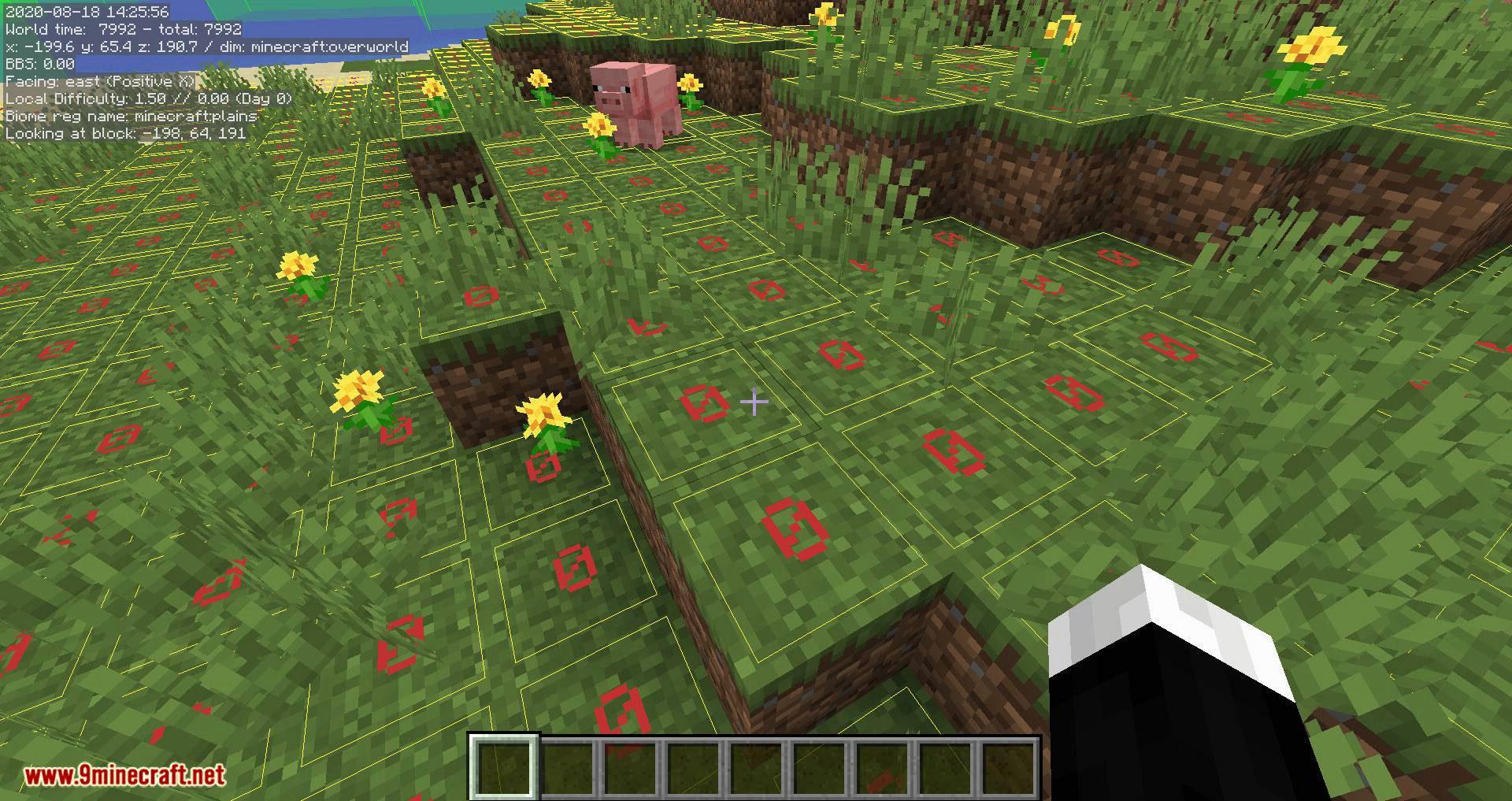 MiniHUD mod for minecraft 07