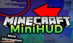 MiniHUD mod for minecraft logo