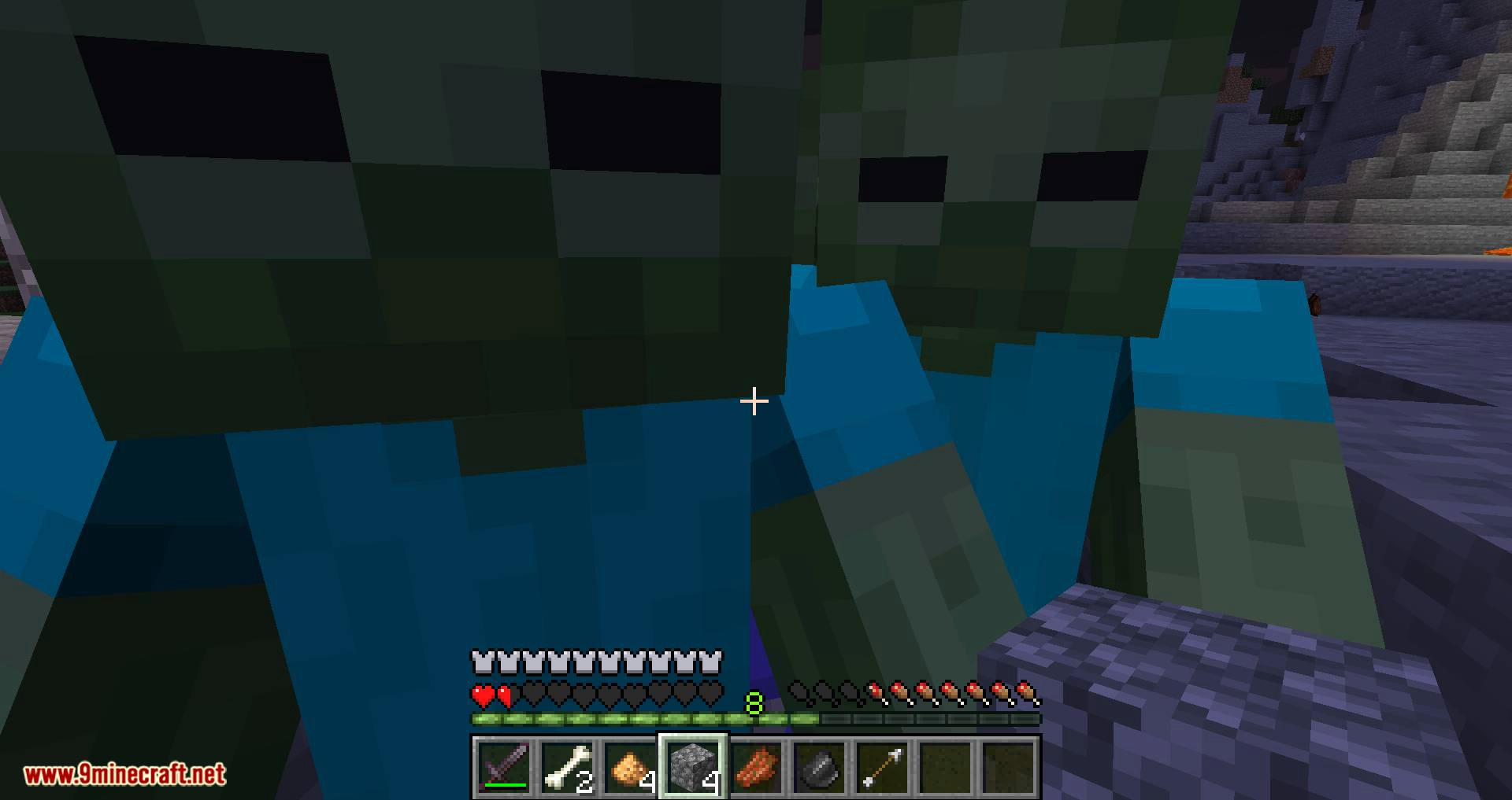 Mobs Attempt Parkour mod for minecraft 07