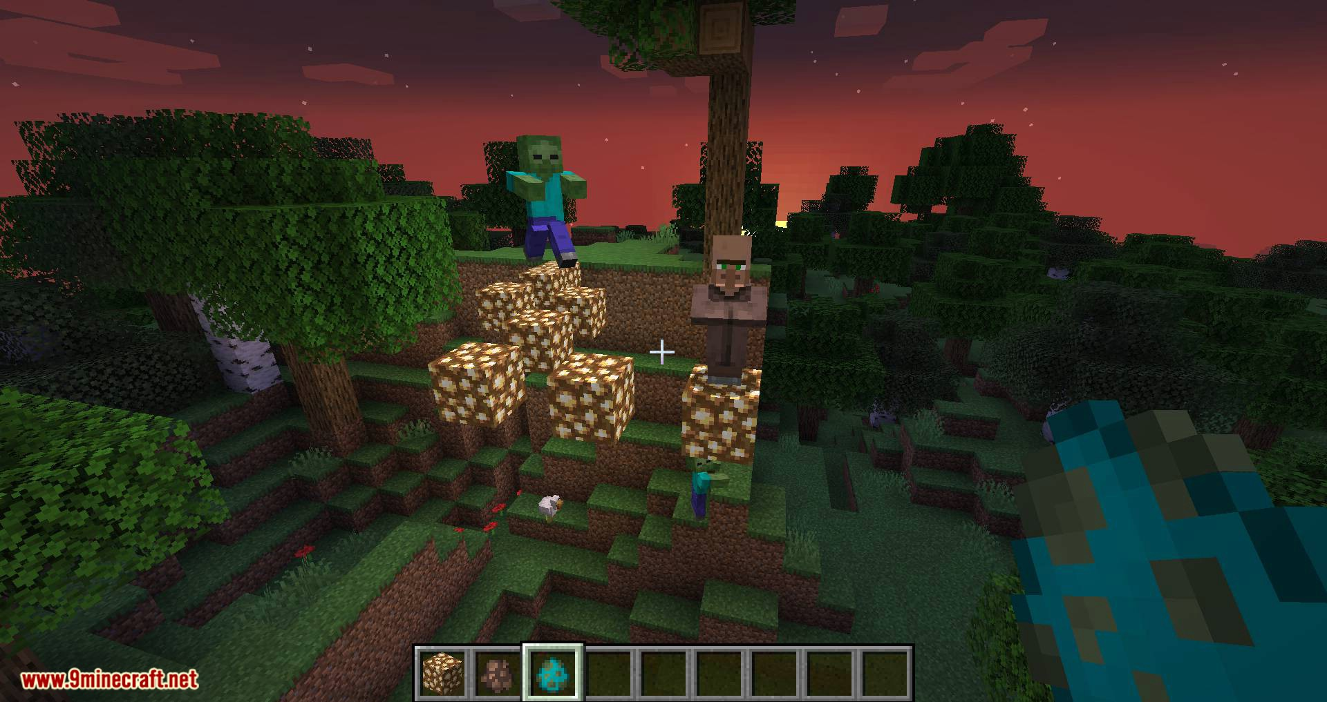Mobs Attempt Parkour mod for minecraft 10