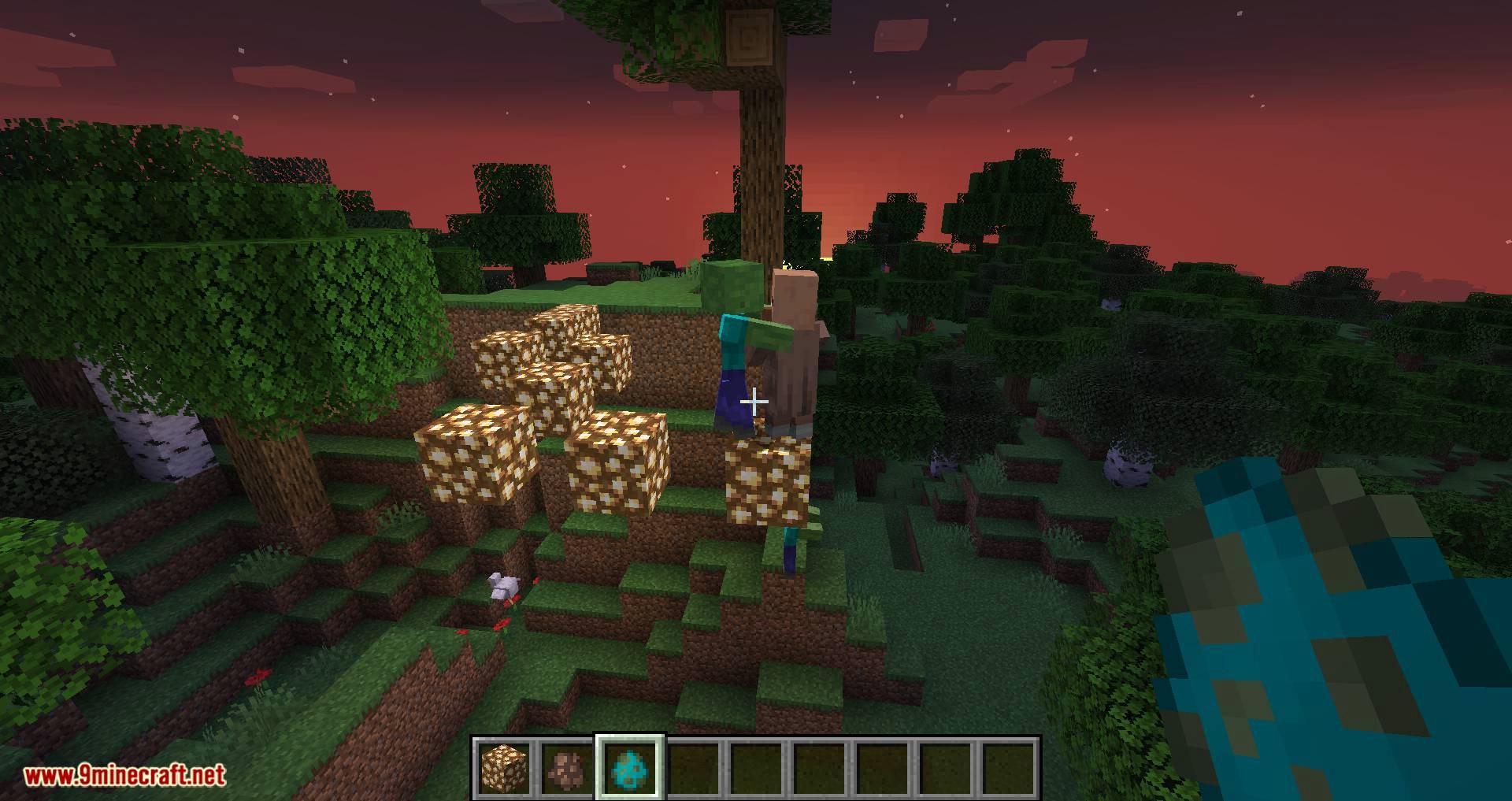 Mobs Attempt Parkour mod for minecraft 11