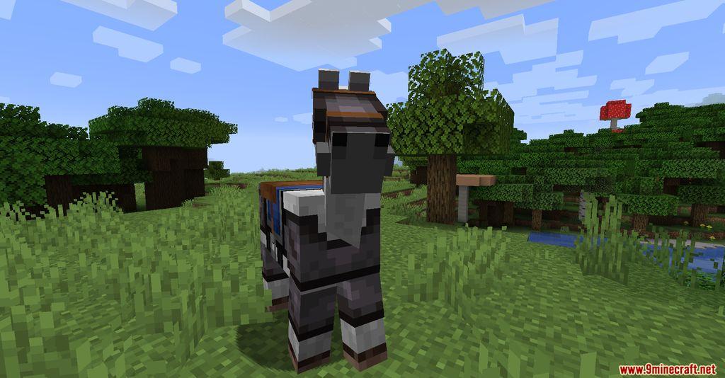 Netherite Horse Armor Screenshots 1