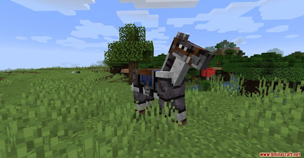 Netherite Horse Armor Screenshots 2