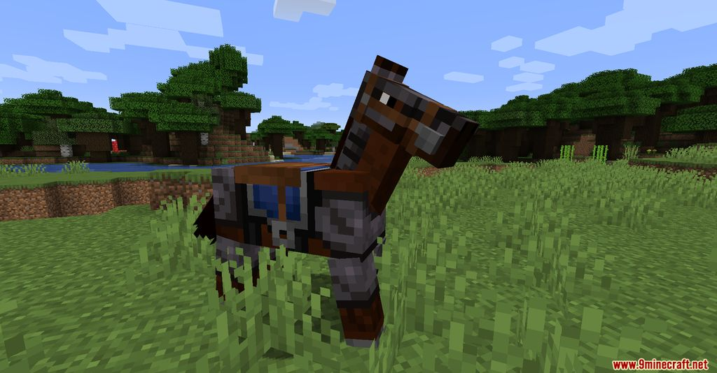 Netherite Horse Armor Screenshots 3