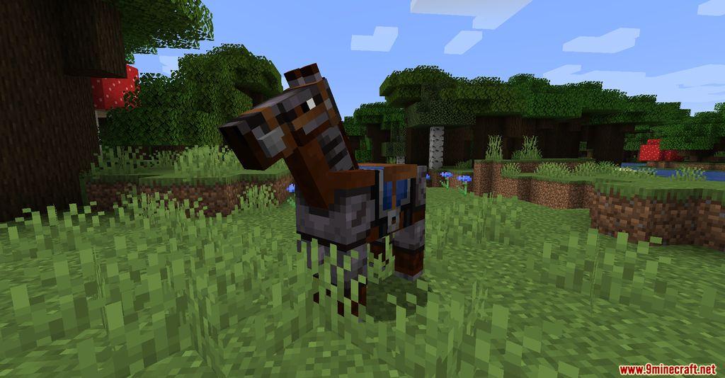 Netherite Horse Armor Screenshots 4