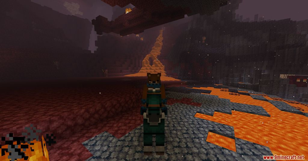 Netherite Horse Armor Screenshots 5