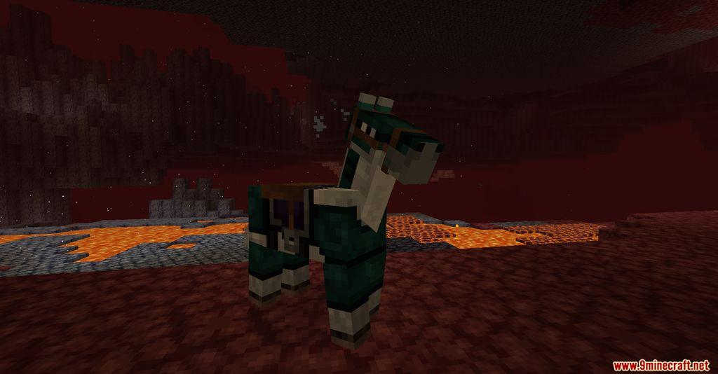 Netherite Horse Armor Screenshots 8