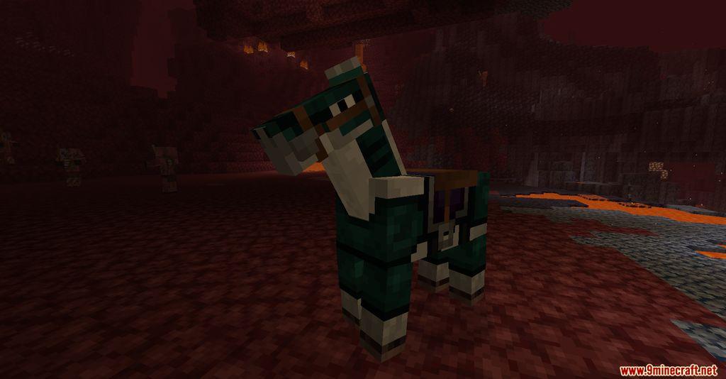 Netherite Horse Armor Screenshots 9