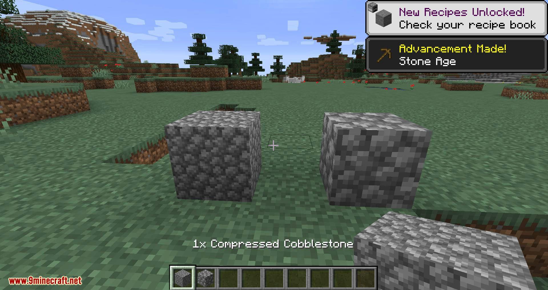Overloaded Compressed Blocks mod for minecraft 01