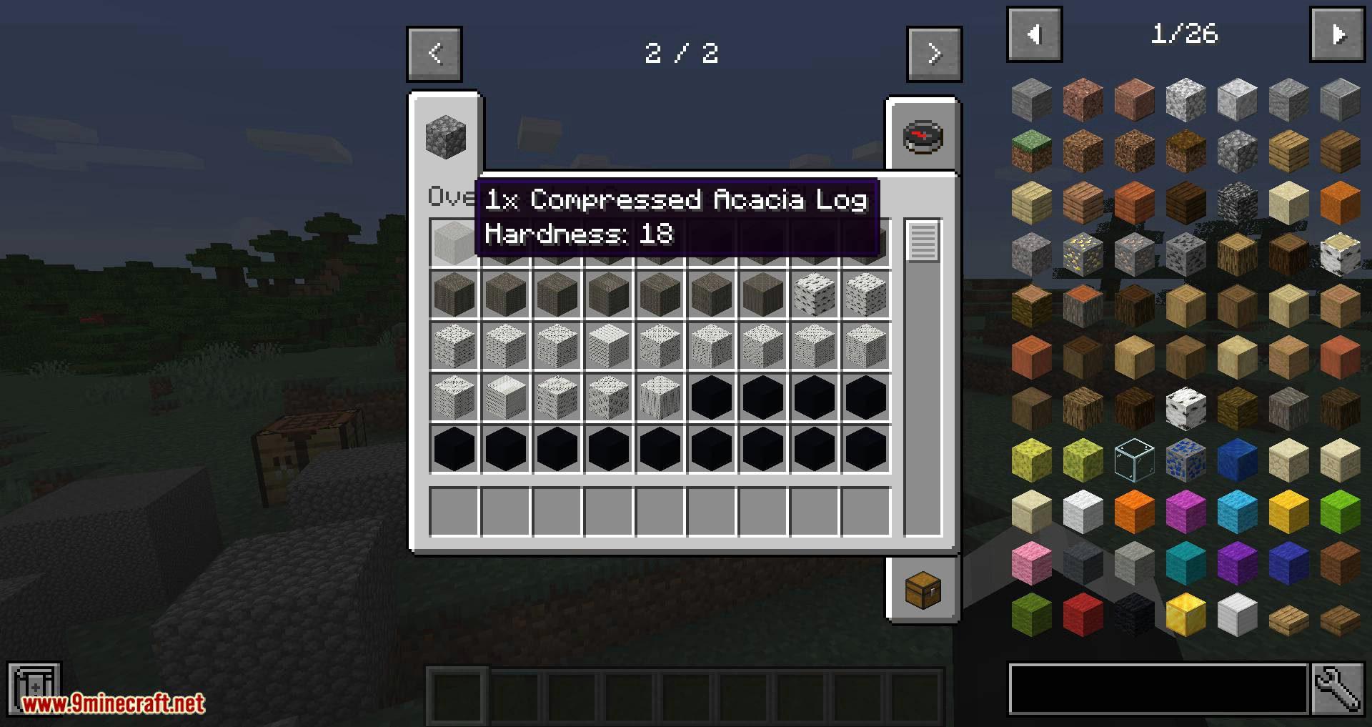 Overloaded Compressed Blocks mod for minecraft 07