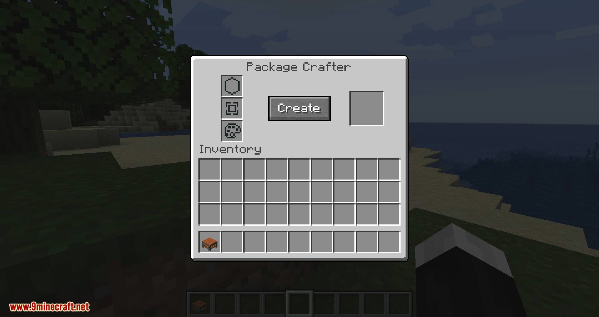 Packages mod for minecraft 02