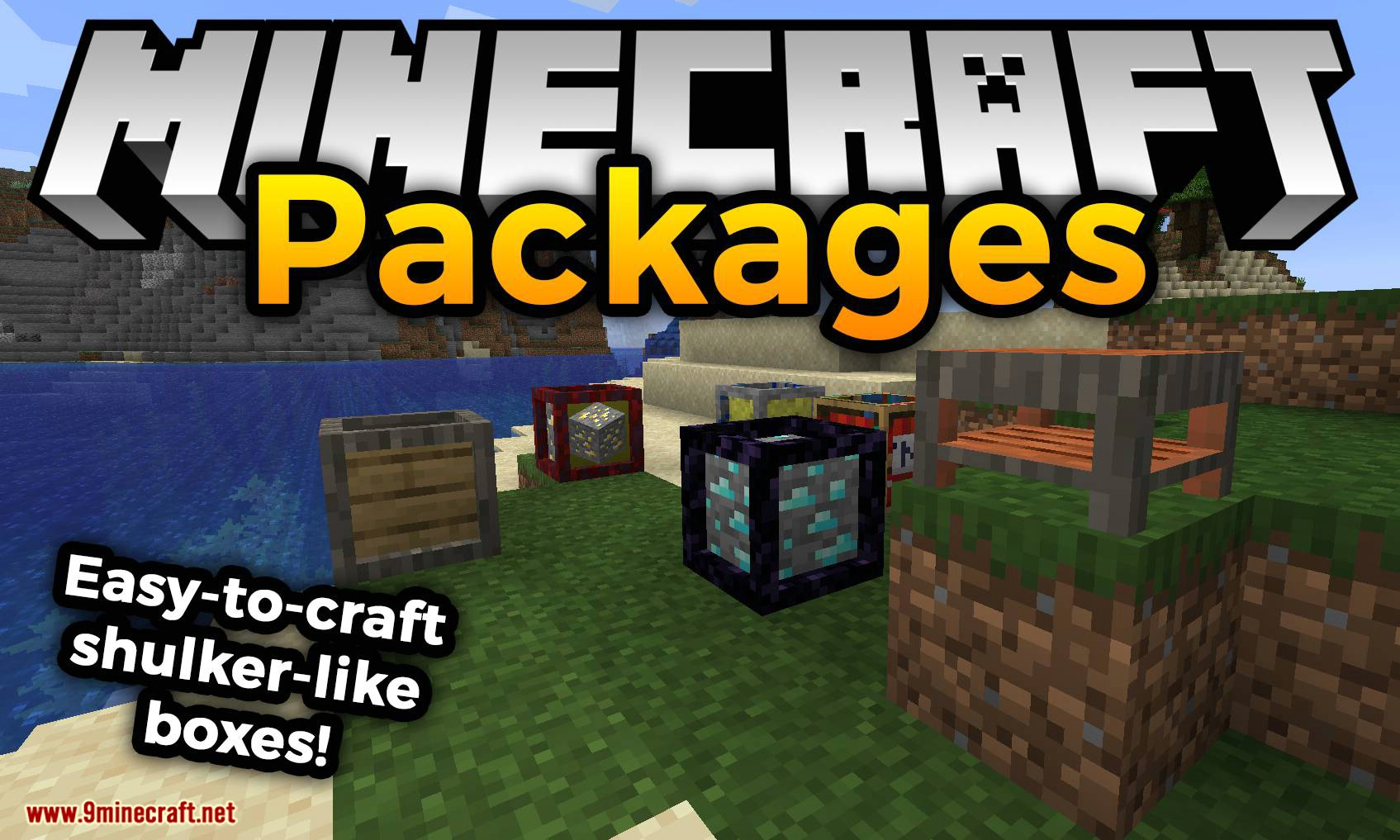 Packages mod for minecraft logo
