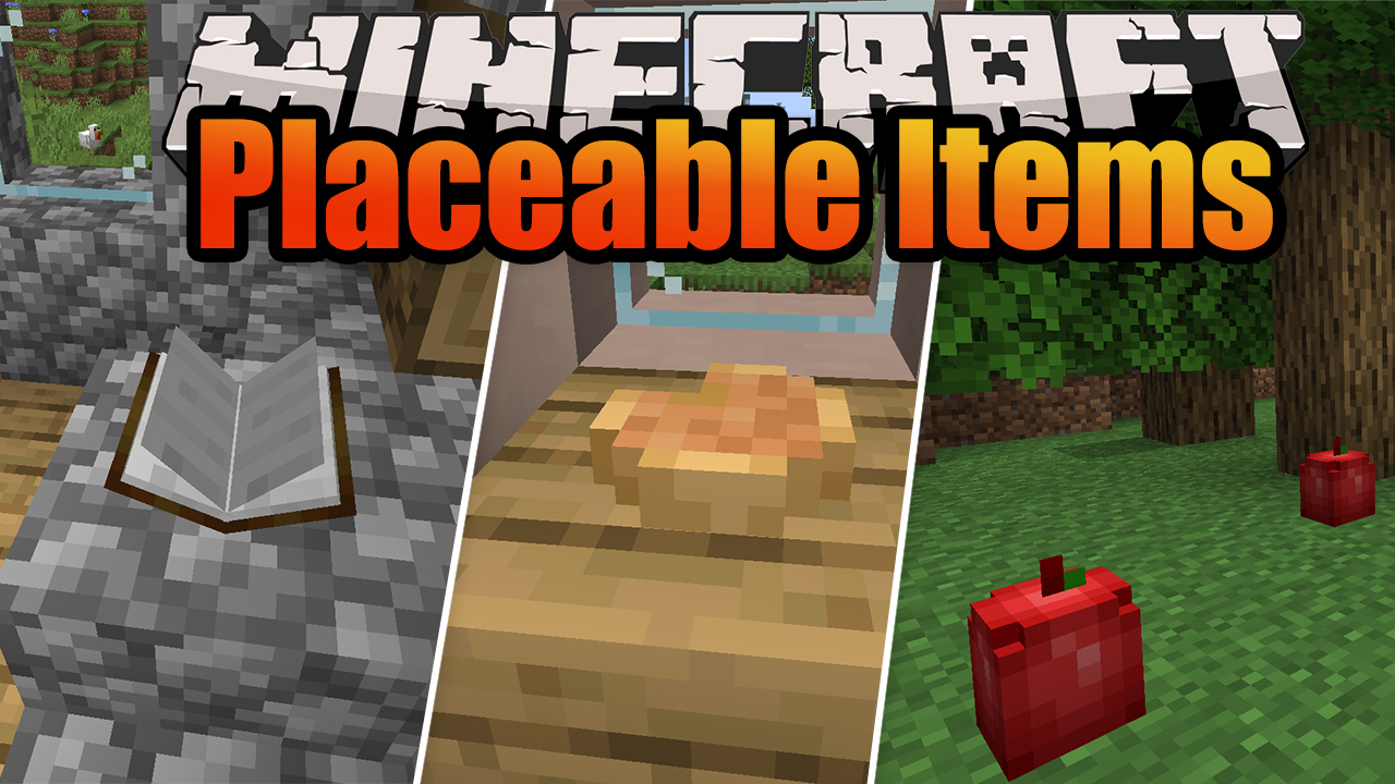 Placeable Items Mod