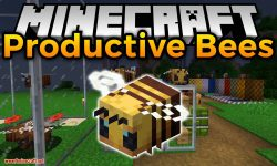 Productive Bees mod for minecraft logo