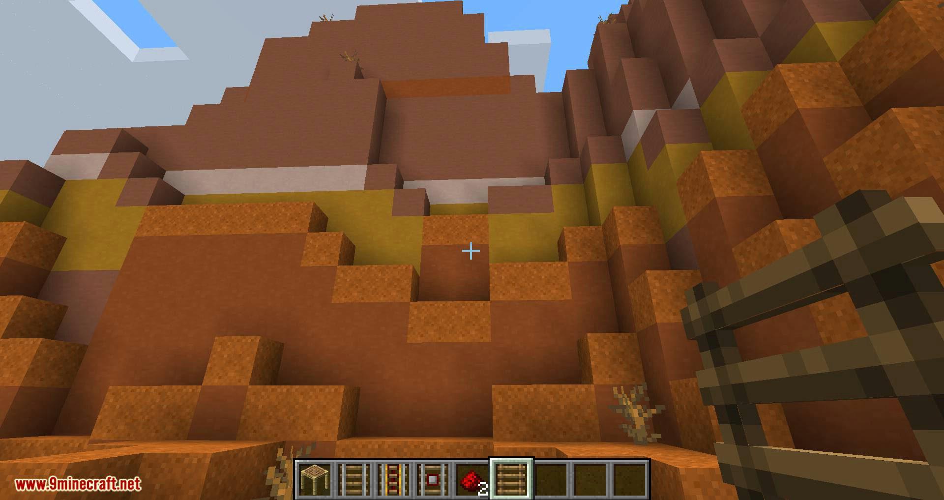 Scaffolding behavior mod for minecraft 09