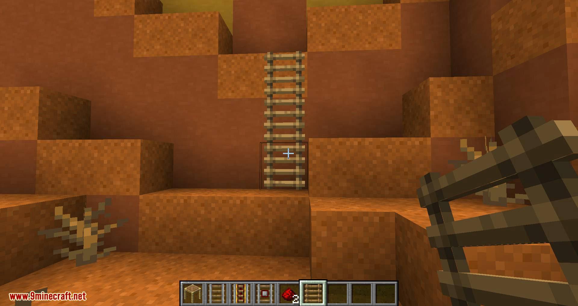 Scaffolding behavior mod for minecraft 10
