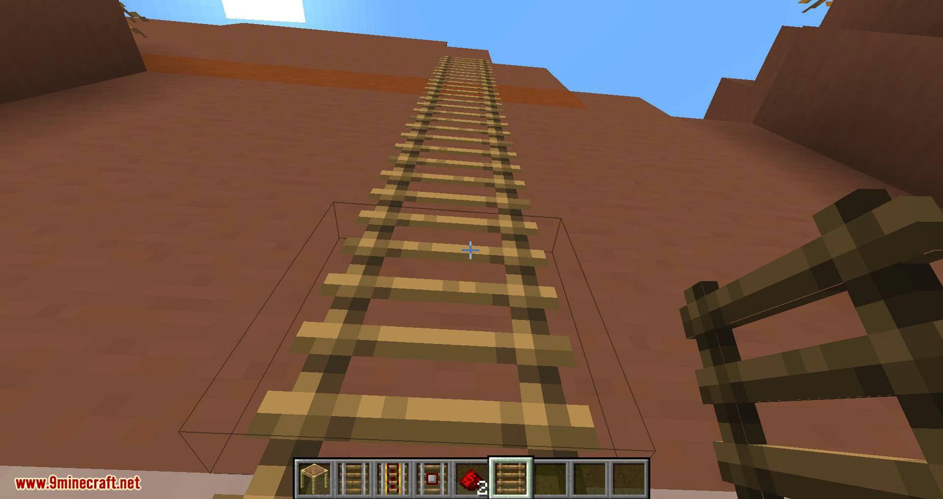 Scaffolding behavior mod for minecraft 11