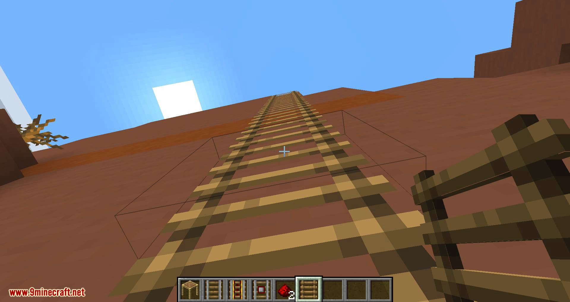 Scaffolding behavior mod for minecraft 12