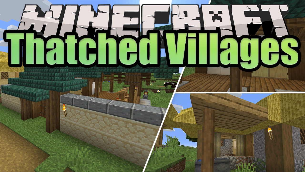Thatched Villages Mod
