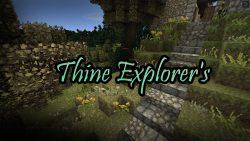 Thine Explorers Resource Pack
