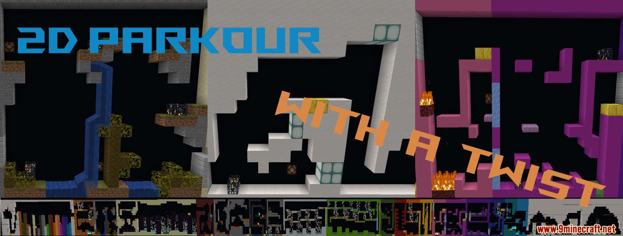 2D Parkour With a Twist Map Thumbnail