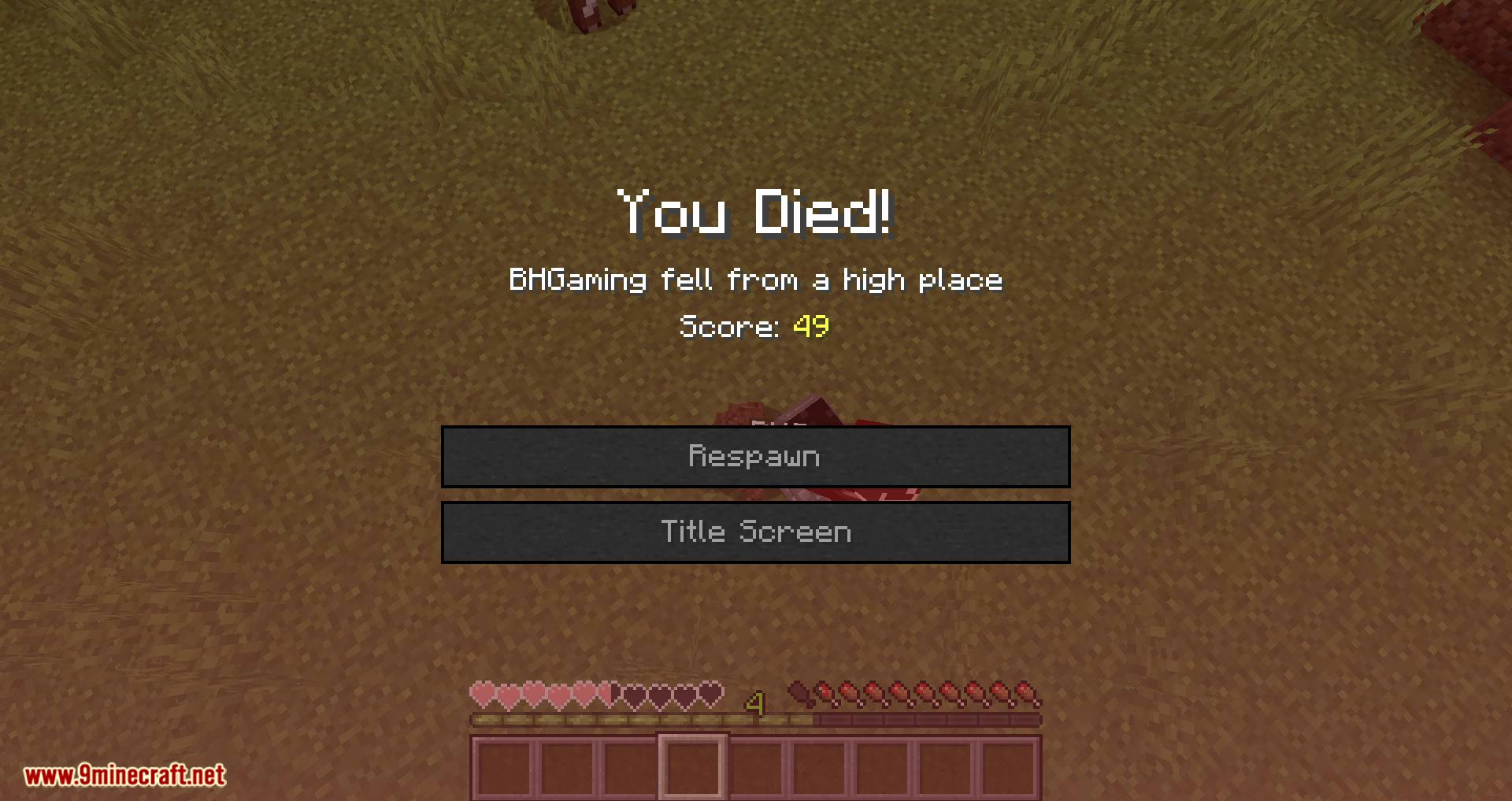Better Graves mod for minecraft 09