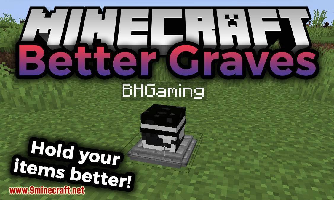 Better Graves mod for minecraft logo