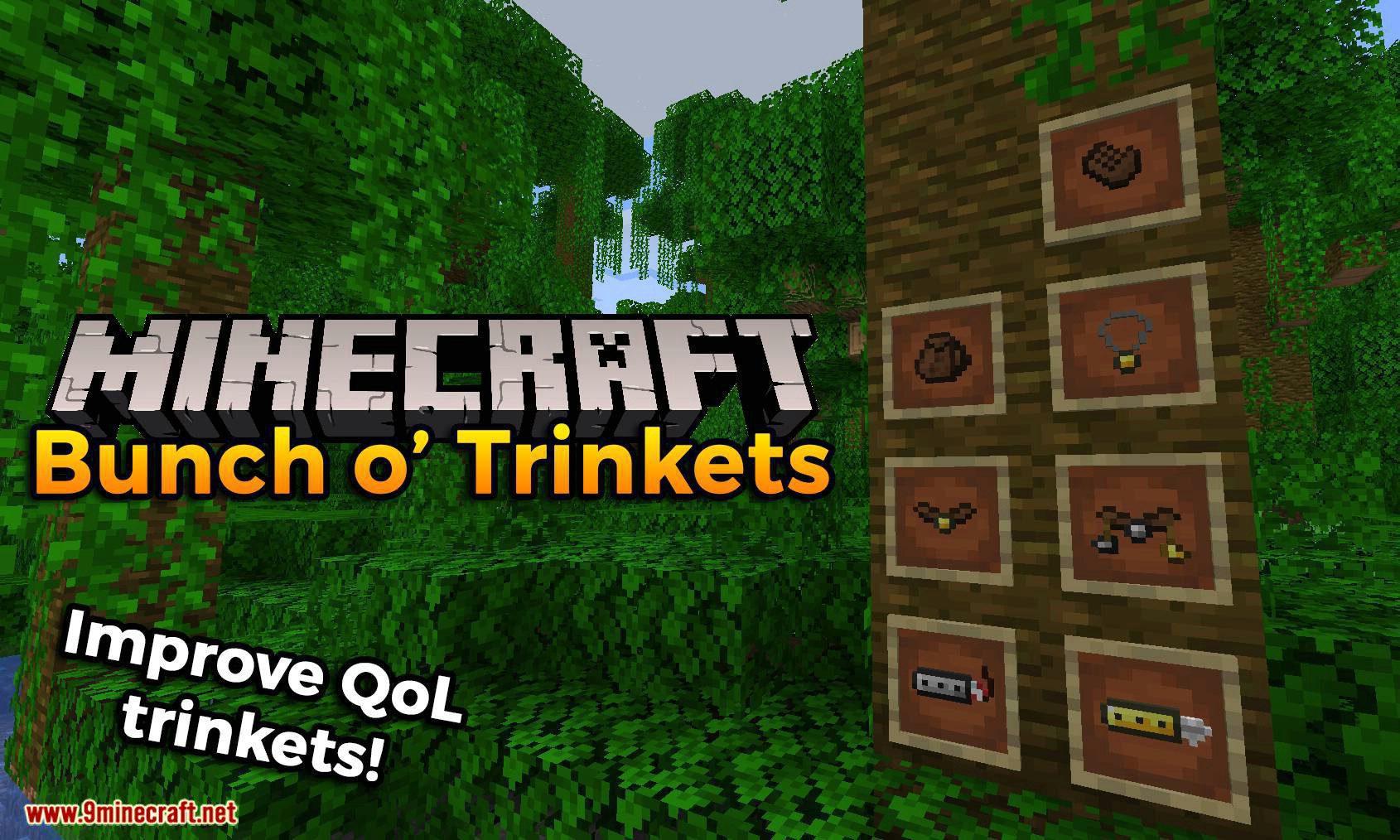 Bunch o_ Trinkets mod for minecraft logo