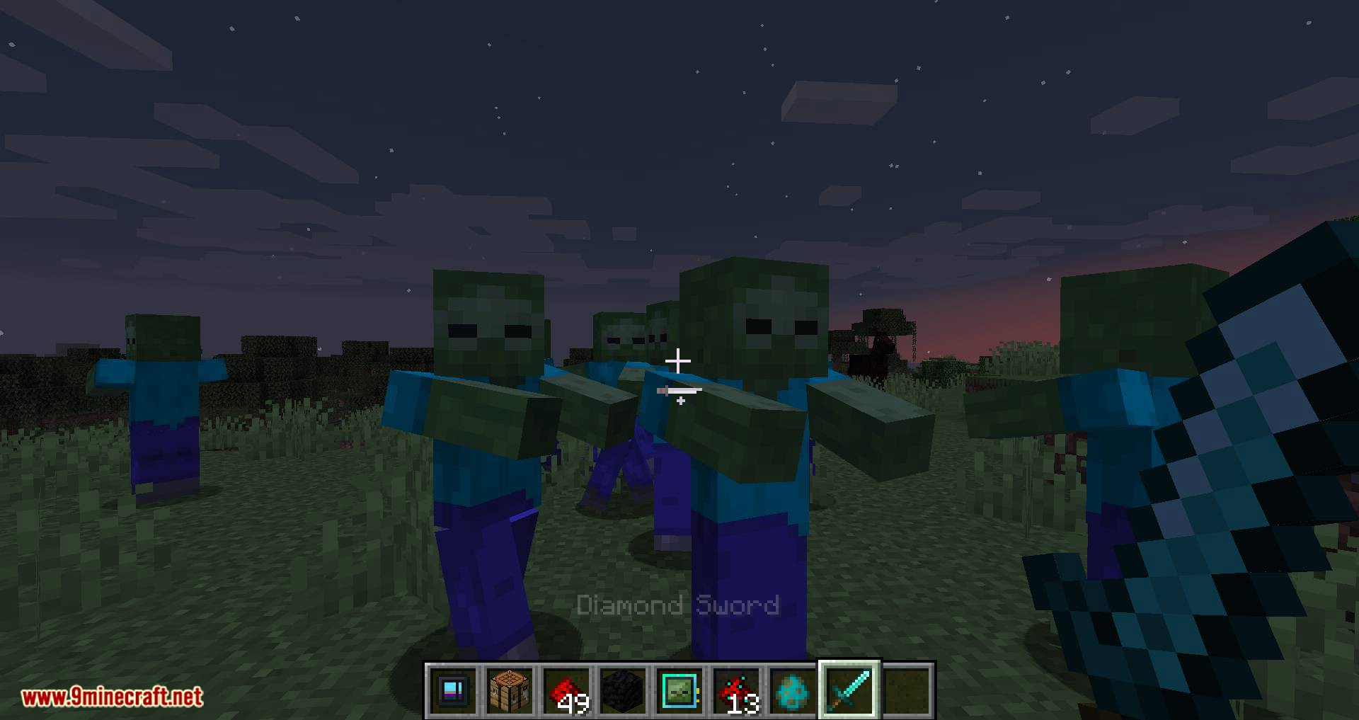 Deep Mob Learning Refabricated mod for minecraft 06
