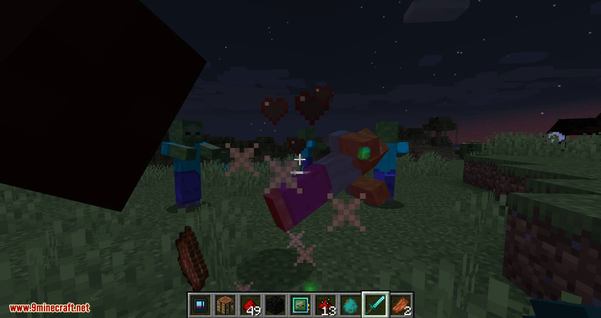 Deep Mob Learning Refabricated mod for minecraft 07