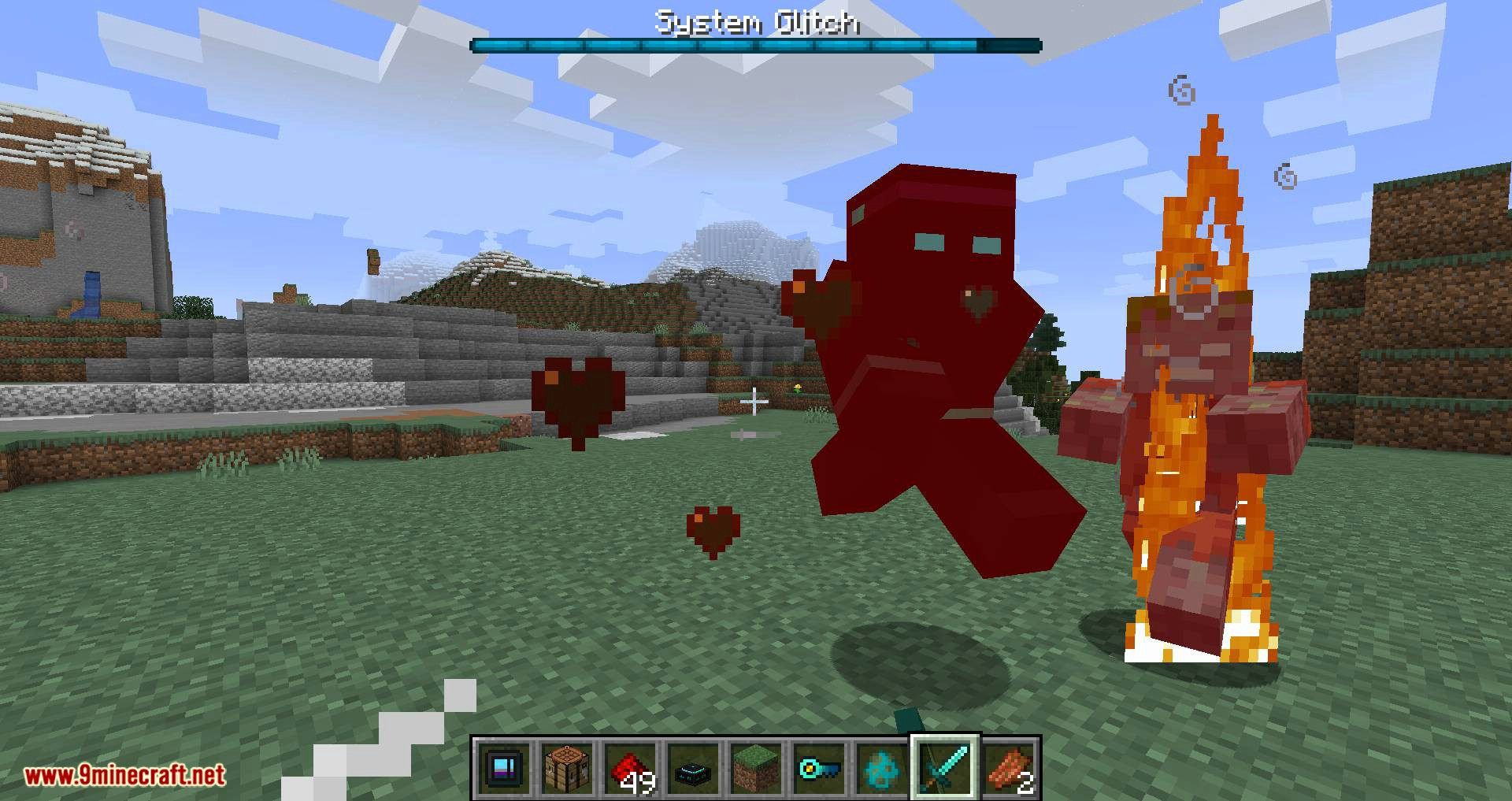 Deep Mob Learning Refabricated mod for minecraft 14
