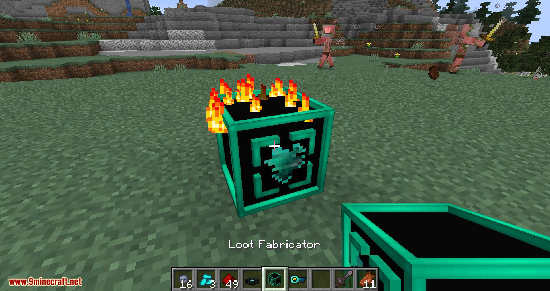 Deep Mob Learning Refabricated mod for minecraft 17