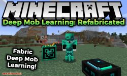 Deep Mob Learning Refabricated mod for minecraft logo