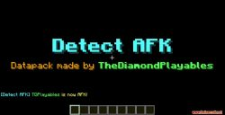 Detect AFK Data Pack Thumbnail