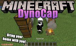 Dynocaps mod for minecraft logo