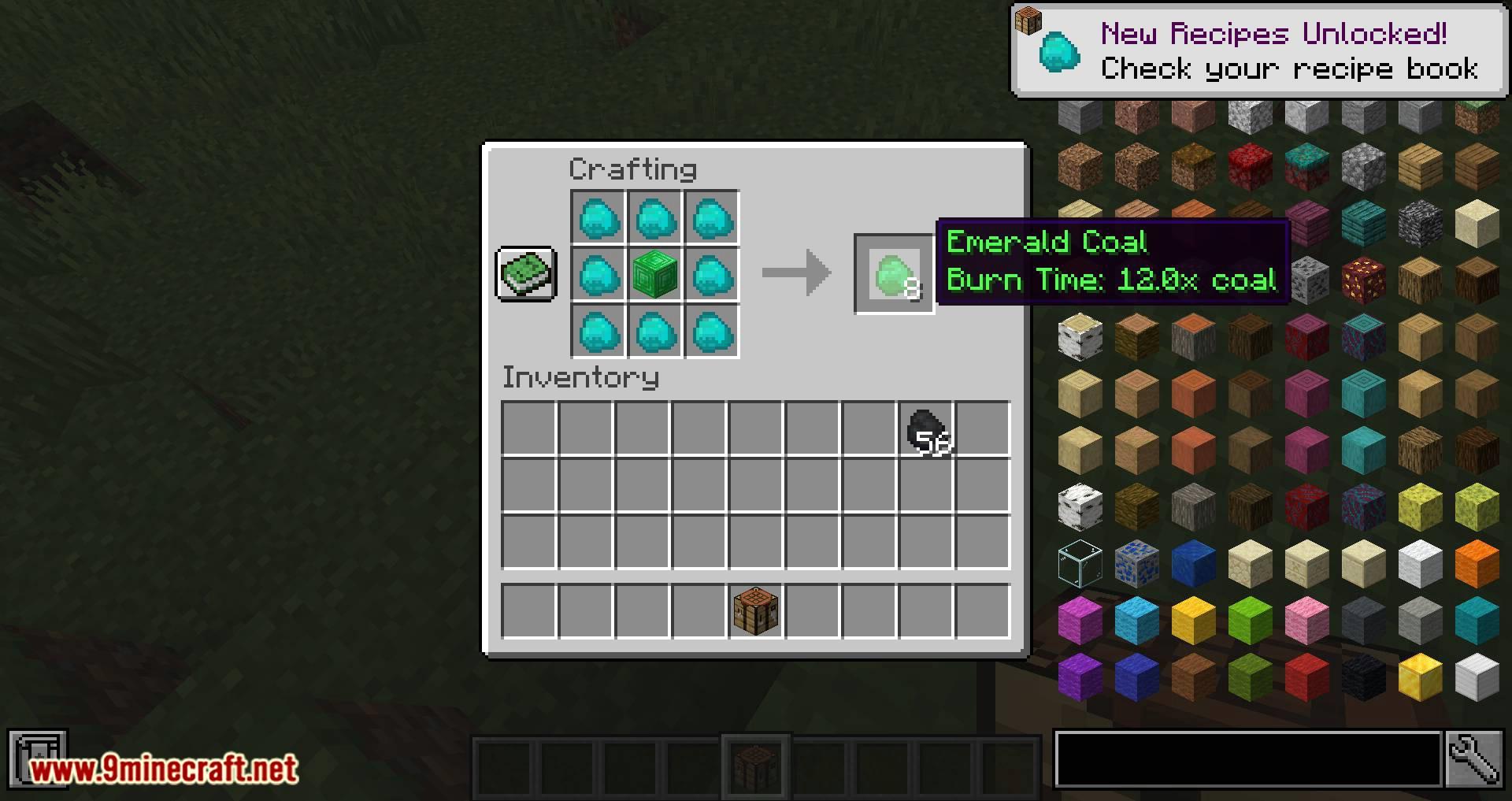 Iron Coals mod for minecraft 04