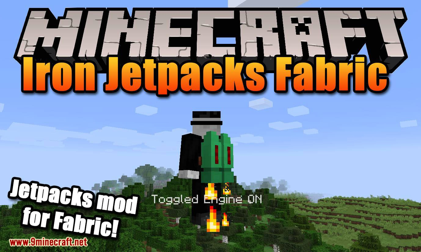 Iron Jetpacks Fabric mod for minecraft logo