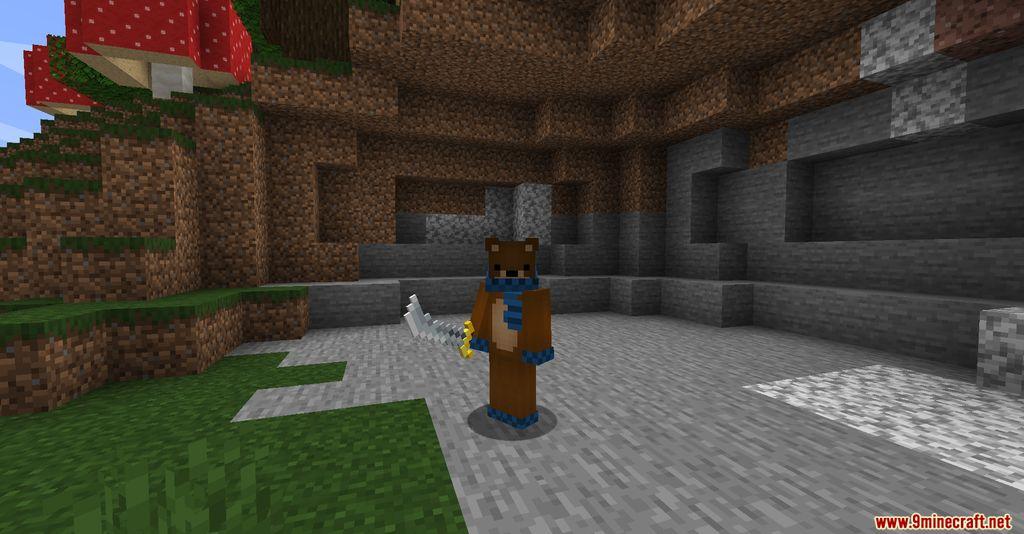 MC Dungeon Weapons Mod Screenshots 4