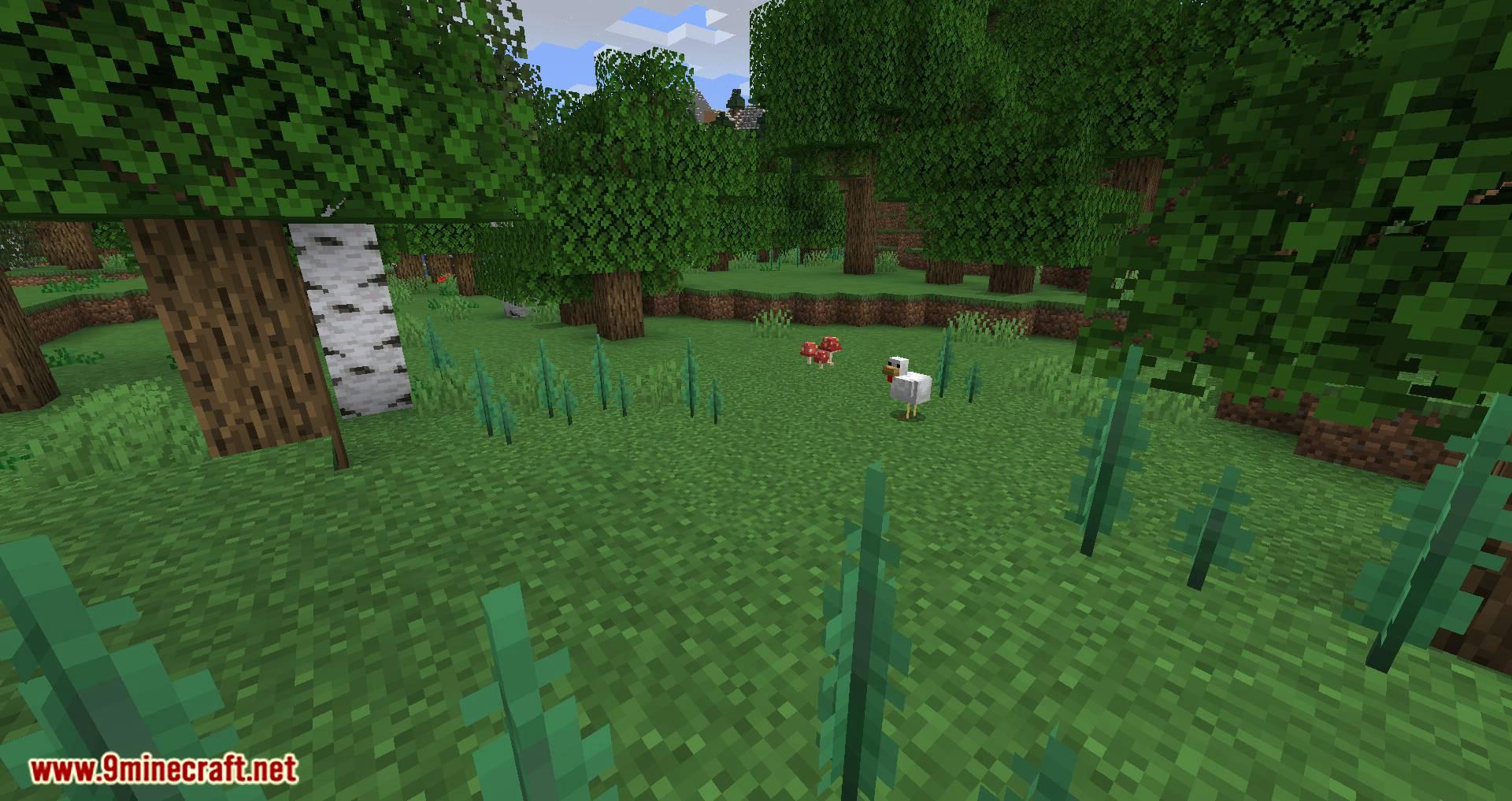 Mushroom Quest mod for minecraft 01