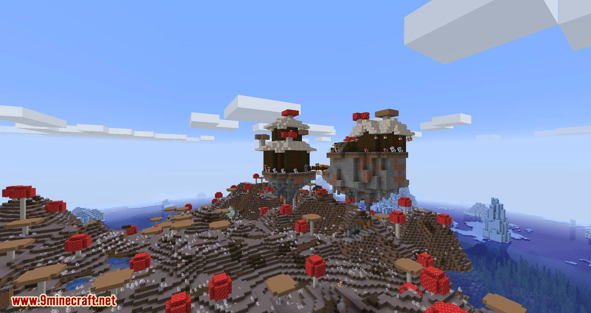 Mushroom Quest mod for minecraft 04