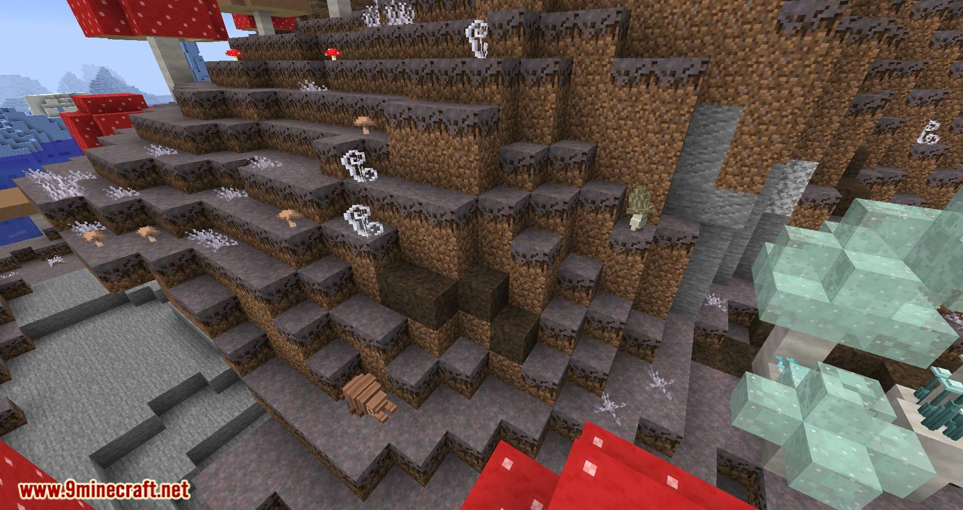 Mushroom Quest mod for minecraft 11