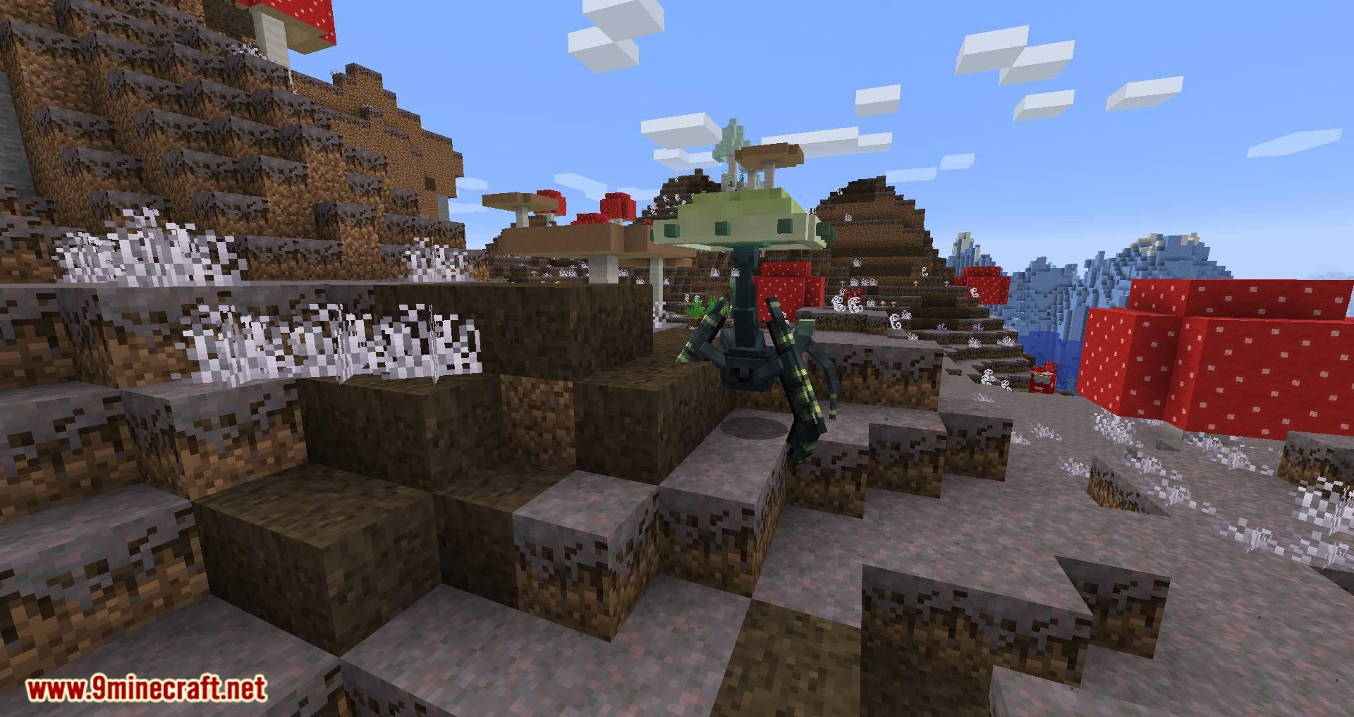 Mushroom Quest mod for minecraft 12