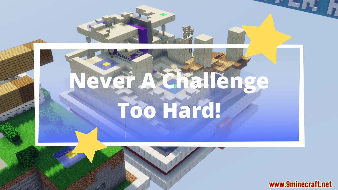 Never A Challenge Too Hard Map Thumbnail